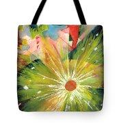 Urban Sunburst Tote Bag by Andrew Gillette