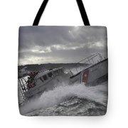 U.s. Coast Guard Motor Life Boat Brakes Tote Bag by Stocktrek Images