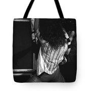 Van Halen's Guitar Eruption Tote Bag by Ben Upham