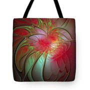 Vase Of Flowers Tote Bag by Amanda Moore