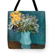 Vase Of Flowers Tote Bag by Vincent Van Gogh