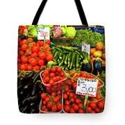 Venice Vegetable Market Tote Bag by Harry Spitz