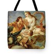 Venus and Adonis  Tote Bag by Charles Joseph Natoire