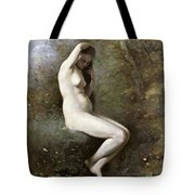 Venus Bathing Tote Bag by Jean Baptiste Camille Corot