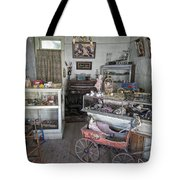 VICTORIAN TOY SHOP - VIRGINIA CITY MONTANA Tote Bag by Daniel Hagerman