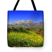 View from Dripping Springs Rd Tote Bag by Kurt Van Wagner