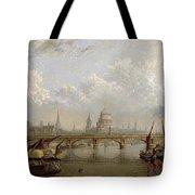 View Of London Tote Bag by John MacVicar Anderson