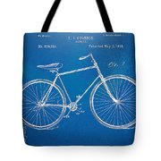 Vintage Bicycle Patent Artwork 1894 Tote Bag by Nikki Marie Smith