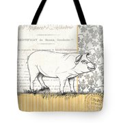 Vintage Farm 2 Tote Bag by Debbie DeWitt