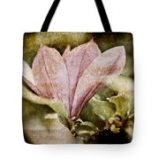 Vintage Magnolia Tote Bag by Frank Tschakert