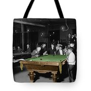 Vintage Pool Hall Tote Bag by Andrew Fare