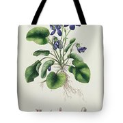 Violets Tote Bag by English School
