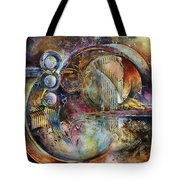 'visions Of Eight' Tote Bag by Michael Lang