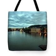 Vltava View 2 Tote Bag by Madeline Ellis