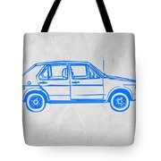 Vw Golf Tote Bag by Naxart Studio