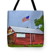 W T Bickets Store In Liberty Tote Bag by Reid Callaway