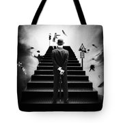 Waiting For The Green Light Tote Bag by Erik Brede