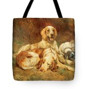 Waiting For The Guns  Tote Bag by Thomas Blinks
