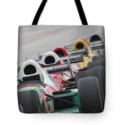 Waiting To Run Tote Bag by Lauri Novak
