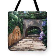 Walk With Me Tote Bag by Suzanne Schaefer