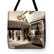 Walking Madison Tote Bag by William Dey