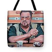 Walter Sobchak Tote Bag by Tom Roderick