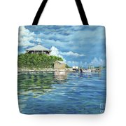 Warderick Wells Tote Bag by Danielle  Perry