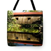 Warner Covered Bridge Tote Bag by Greg Fortier