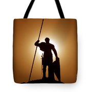 Warrior Tote Bag by David Lee Thompson