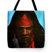 Warrior Tote Bag by Lance Headlee