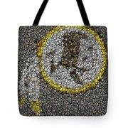 Washington Redskins Coins Mosaic Tote Bag by Paul Van Scott