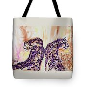 Watchful Eyes Tote Bag by Larry  Johnson