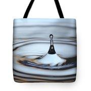 Water drop splash Tote Bag by Frank Tschakert