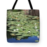 Water Lily Pond Tote Bag by Carol Groenen