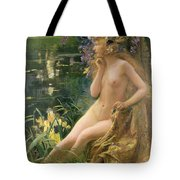 Water Nymph Tote Bag by Gaston Bussiere