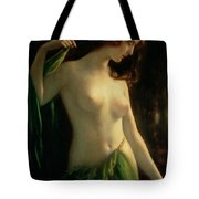 Water Nymph Tote Bag by Otto Theodor Gustav Lingner