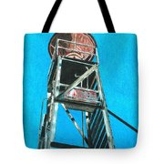Water Tower Tote Bag by Glenda Zuckerman