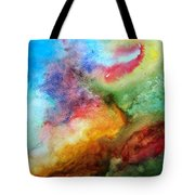 Watercolor Collage Tote Bag by Jamie Frier