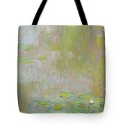 Waterlilies at Giverny Tote Bag by Claude Monet