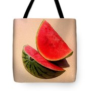 Watermelon Study Tote Bag by Lucyna A M Green