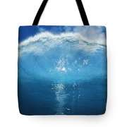 Wave Tube Tote Bag by Ali ONeal - Printscapes