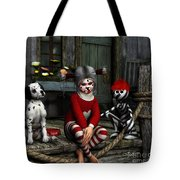We Are Family Tote Bag by Jutta Maria Pusl