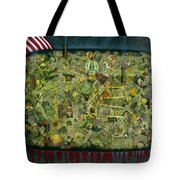 We don't see the whole picture Tote Bag by James W Johnson