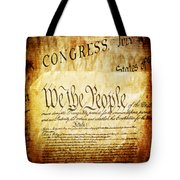 We The People Tote Bag by Angelina Vick