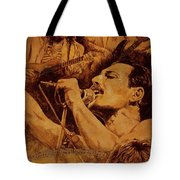 We Will Rock You Tote Bag by Igor Postash