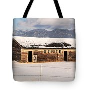 Weathered Barn Tote Bag by Sue Smith