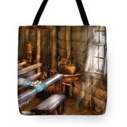 Weaver - The Weavers Room Tote Bag by Mike Savad