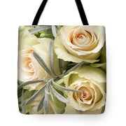 Wedding Flowers Tote Bag by Wim Lanclus