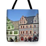 Weimar Germany - A Town Of Timeless Appeal Tote Bag by Christine Till
