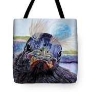 Welcome to the World Tote Bag by John Lautermilch